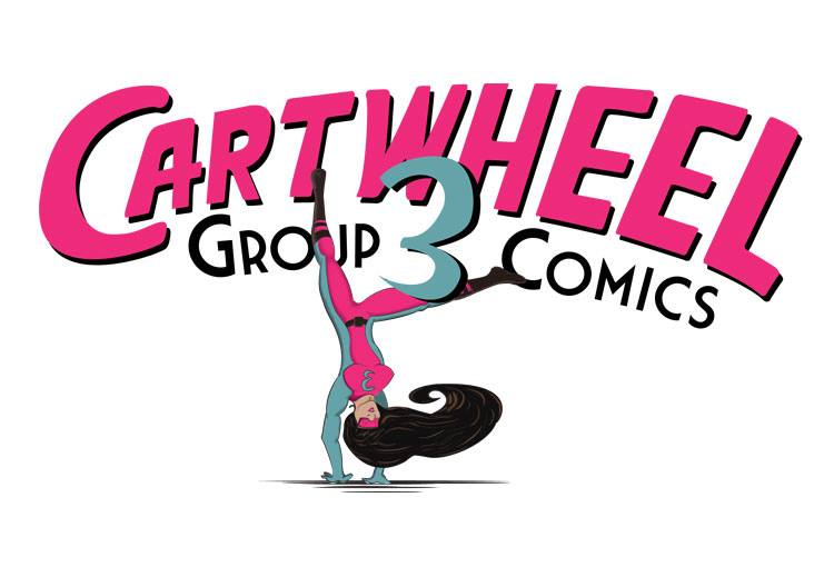 Cartwheel Group 3 Comics Unveils Brand Spankin' New Logo