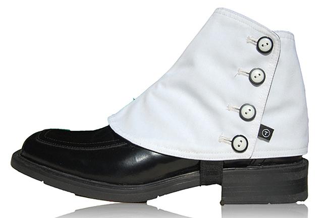 Black Spats Shoes